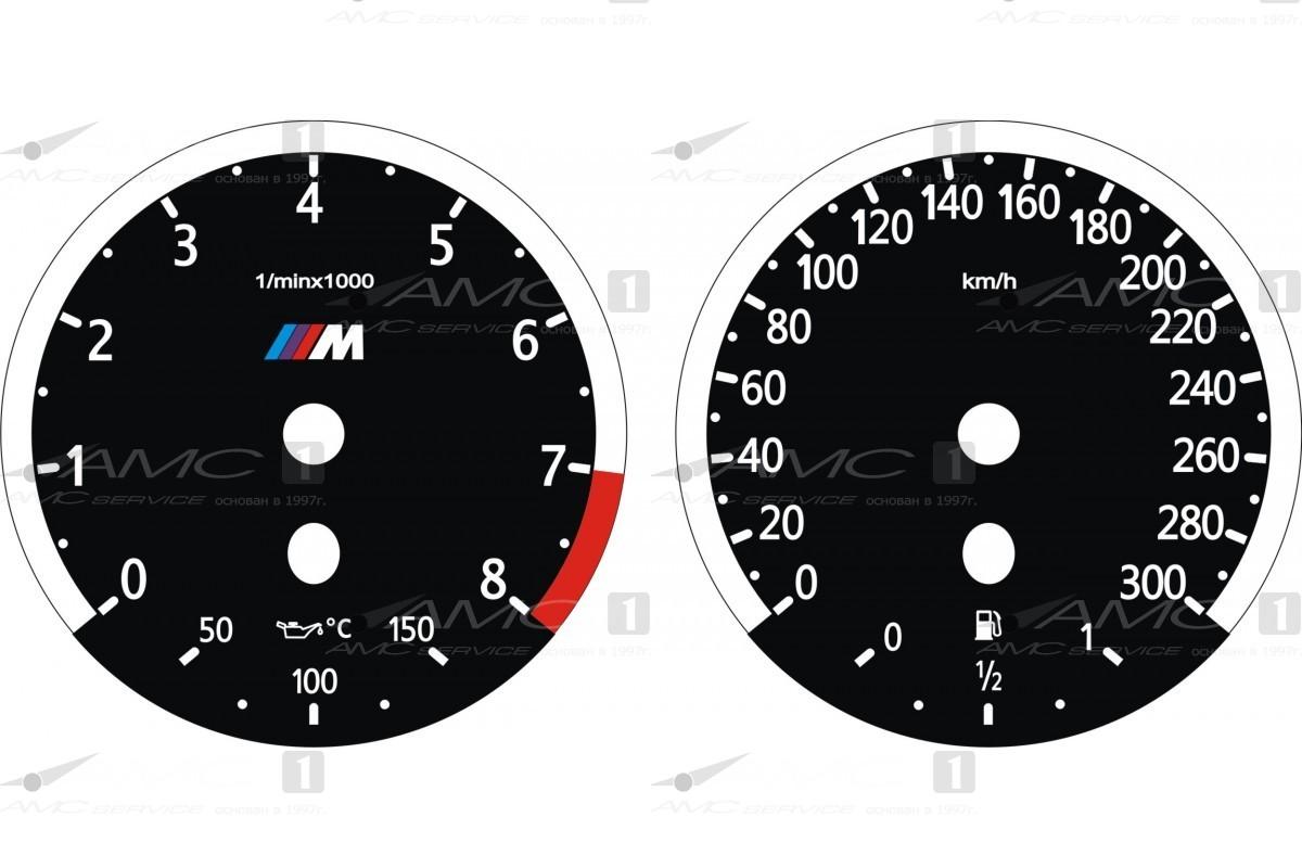 Шкала приборов для BMW 5.60.11(300-8)M