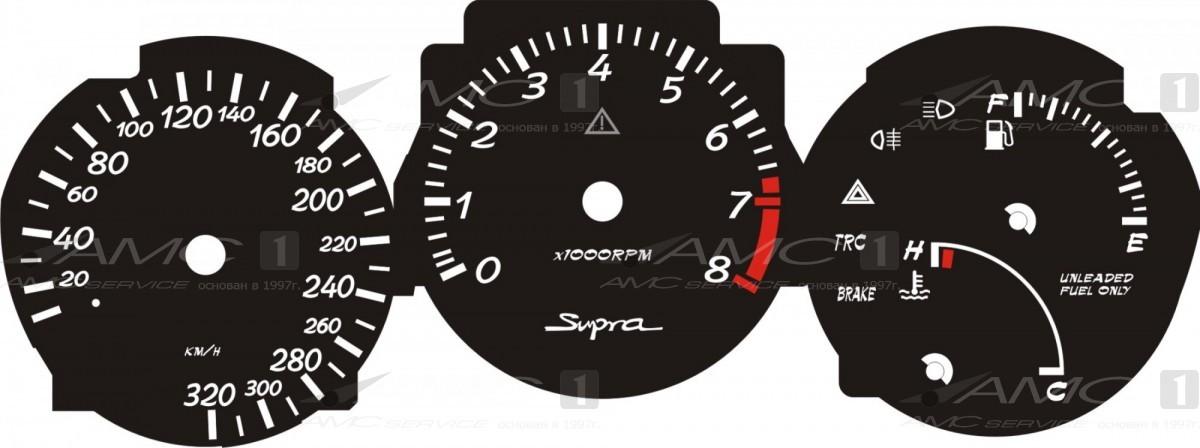 Шкала приборов для Toyota SUPRA.02(320-8)