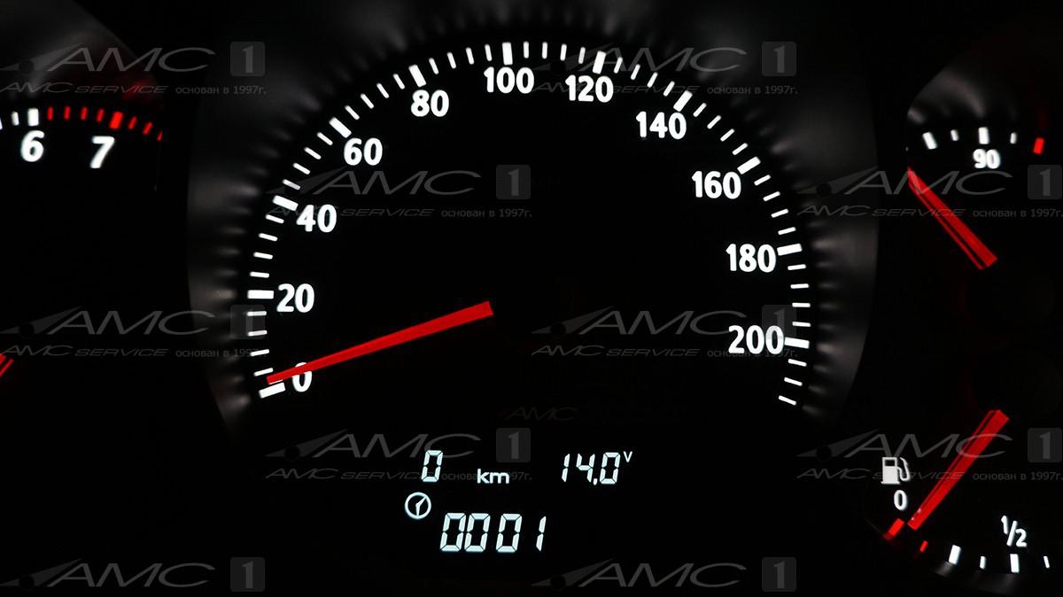 Шкала приборов для Lada vesta 03.04